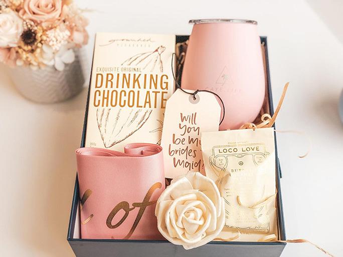 Bridesmaid Proposal Hot Chocolate Gift Box