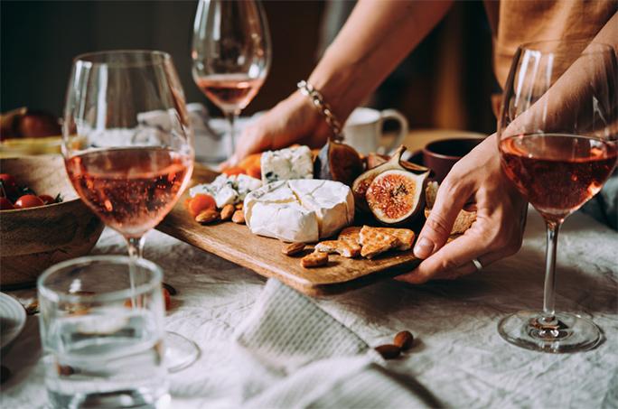 Bridesmaid Proposal Wine and Cheese Night
