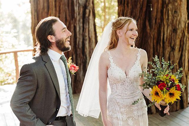 true bride harley and groom at wedding - style 905 by martina liana