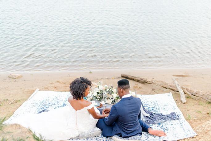 beach wedding - style D2815 by essense of australia